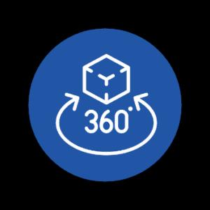 REM Ausstellungsraum 360 logo